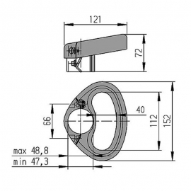Châssis & roue - Accessoire de remorque
