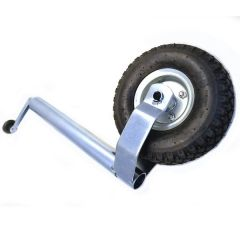 Roue Jockey Gonflable