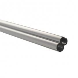 Rail plastique double jonc