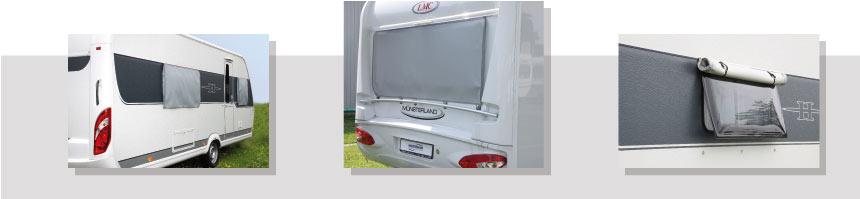 Volet pour fenêtres de camping car
