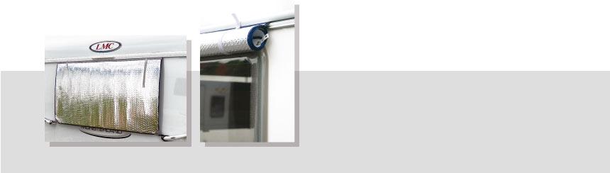 Volet pour fenêtres de caravane